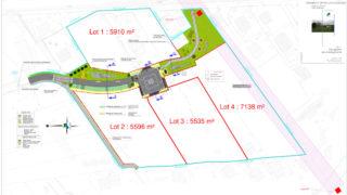 Plan d'aménagement Bissy-Champs Courts