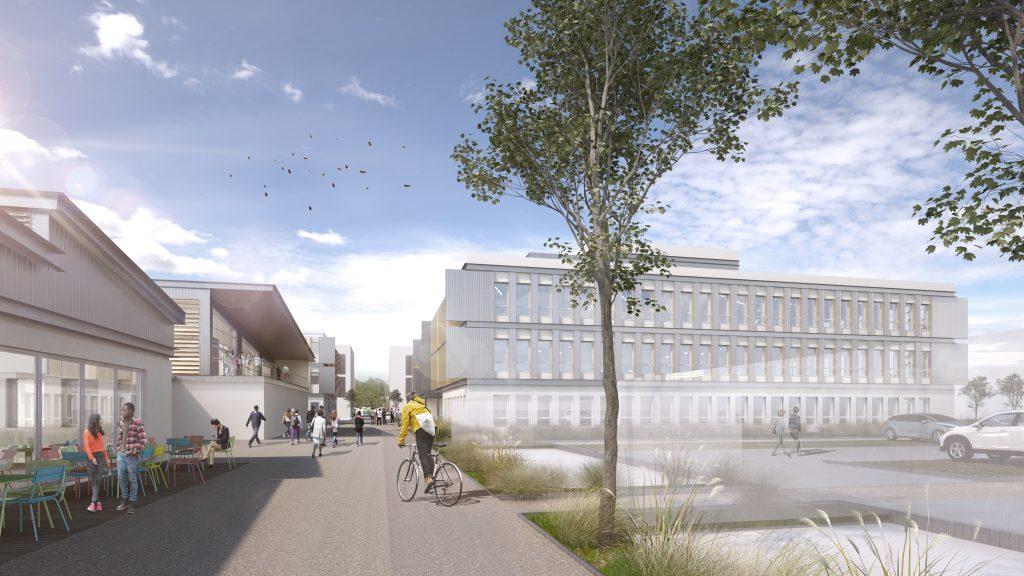Construction du Centre d'Entrepreneuriat :…