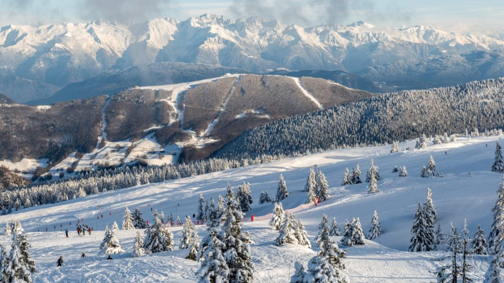 station de ski, Aillons-Margeriaz 1400