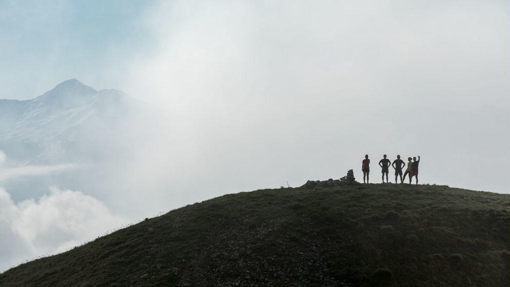 Trail dans les Bauges a Aillons 1000