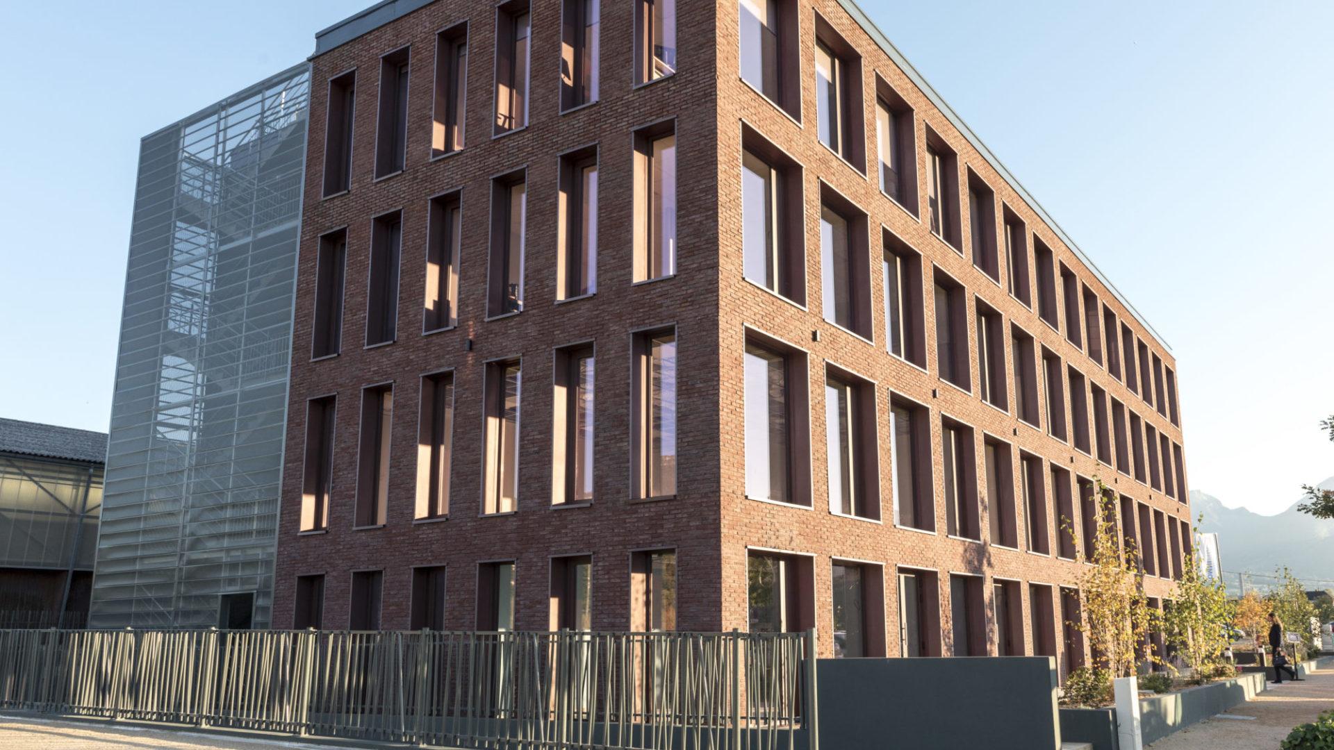 Bâtiment Brick House Chambéry