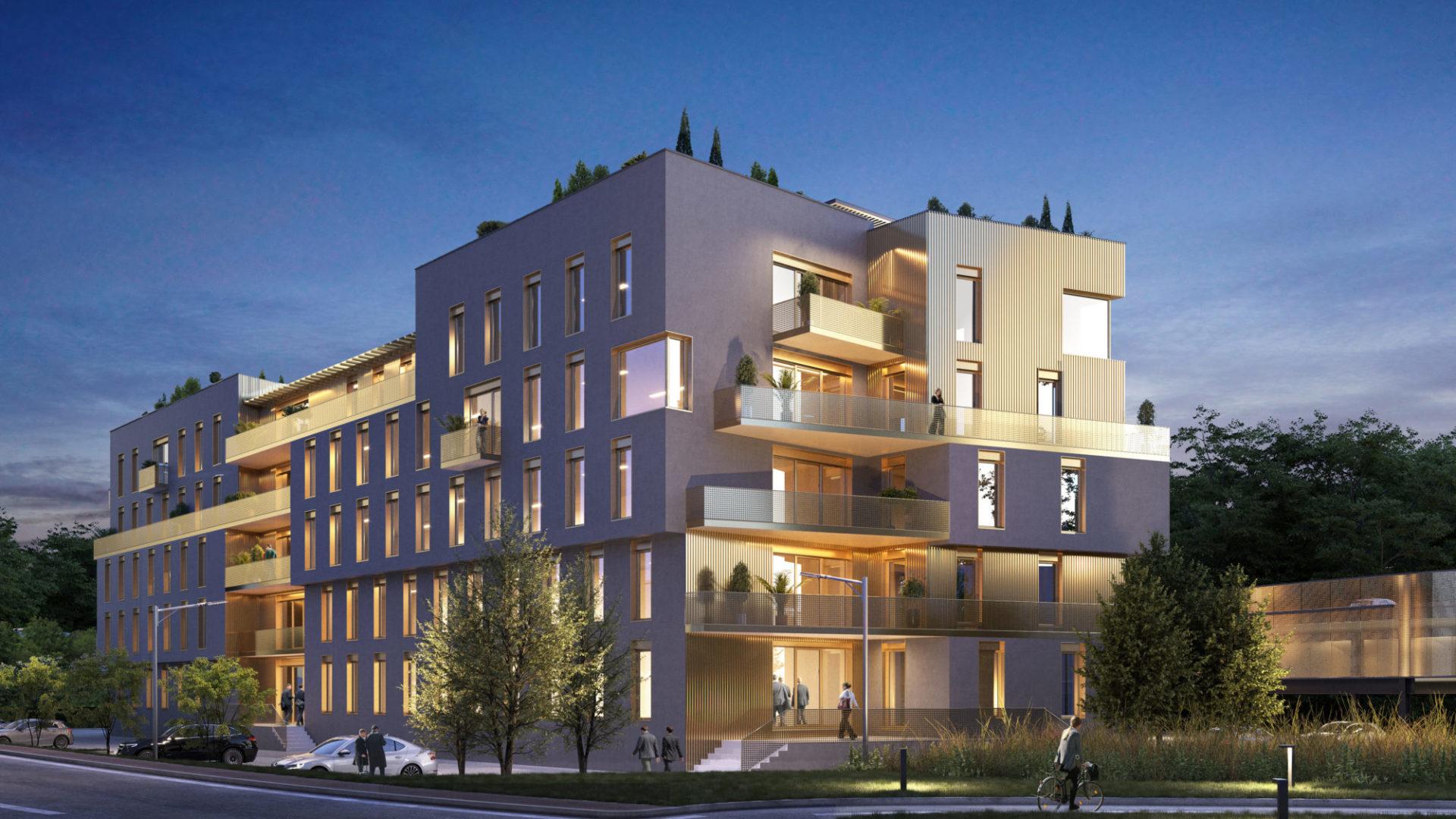 Bureaux neufs bâtiment Crysalis – Chambéry