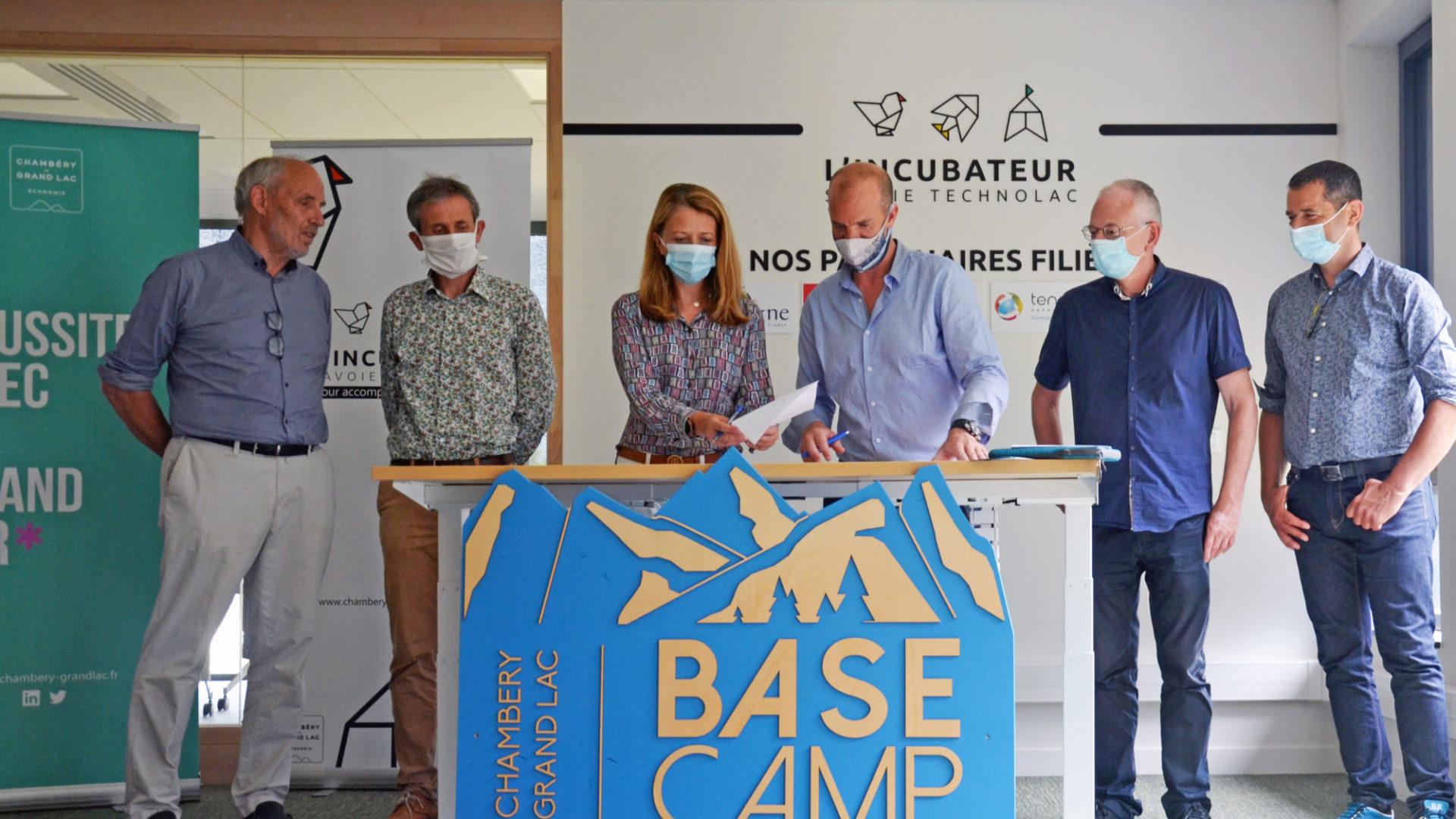 Le Pôle Entrepreneuriat de Savoie Technolac accueille le nouveau «Base Camp» d'Outdoor Sports Valley