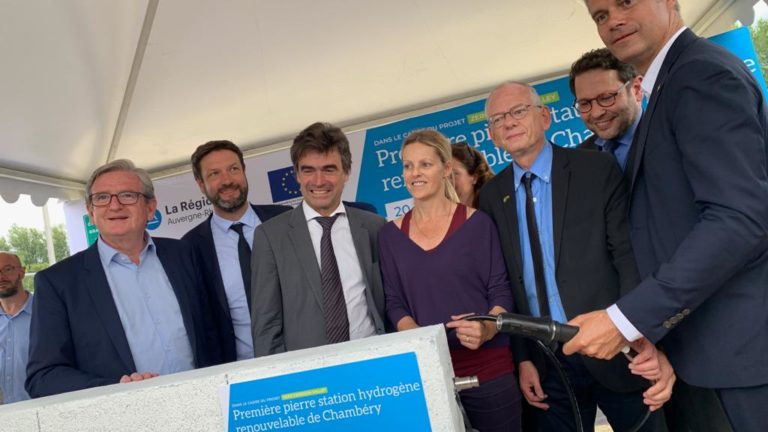 Station hydrogène renouvelable de Chambéry