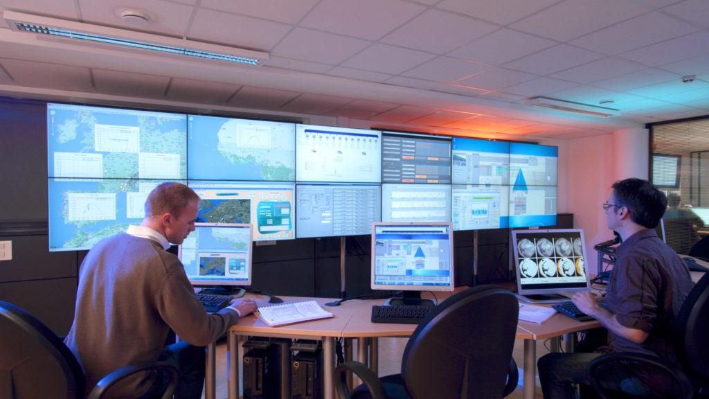 Salle de monitoring smart grids - iNES CEA
