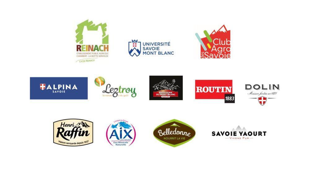 Logos filière agroalimentaire