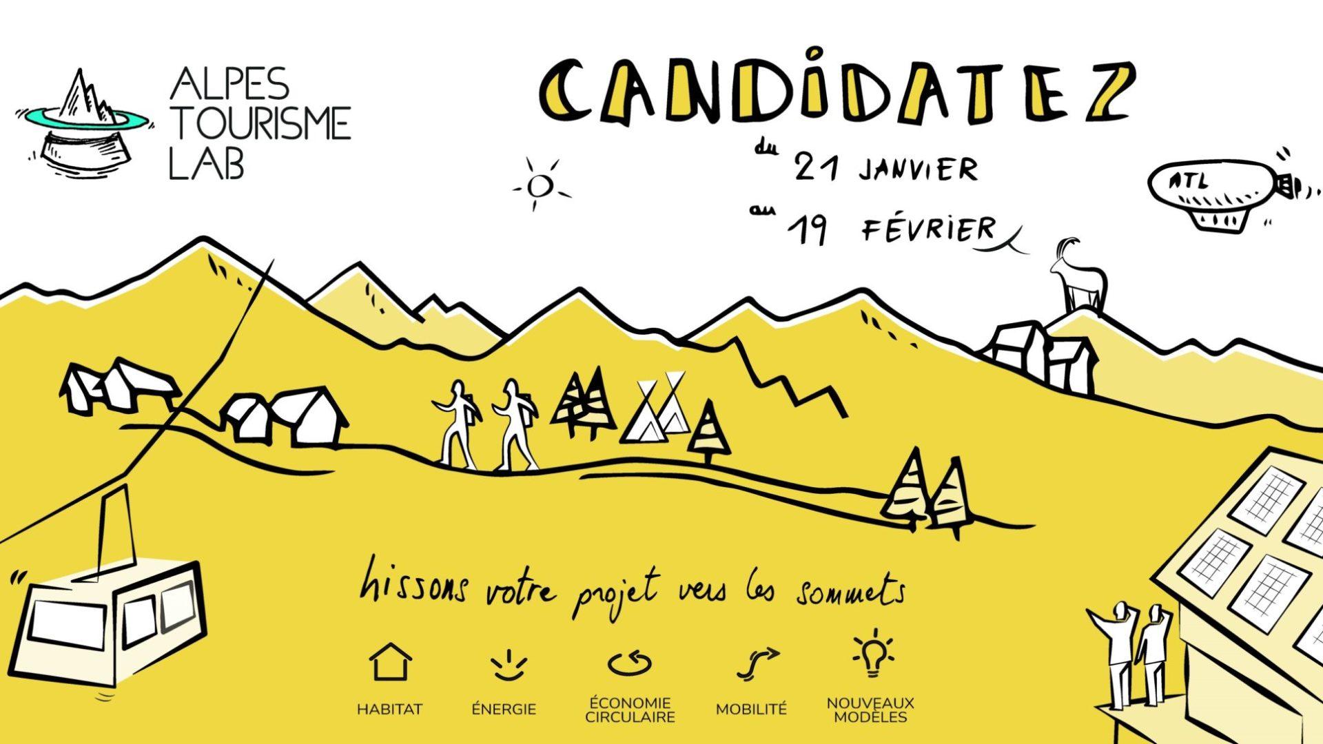 Ouverture de l'appel à candidature Alpes Tourisme Lab
