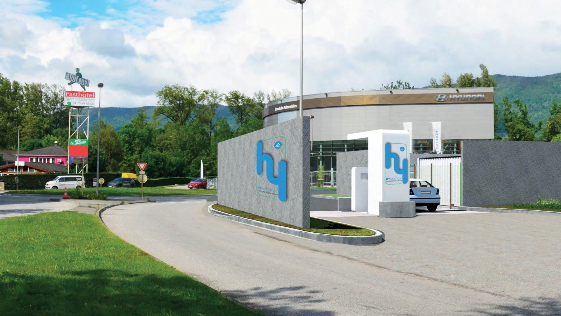 Chambéry accueillera la 1ère station de recharge «Zero Emission Valley» à hydrogène renouvelable